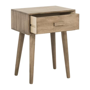 MDF Night Table with Drawer for Bed