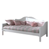 White Child Solid Wood Sofa Bed
