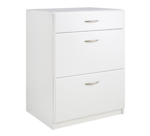 MDF Wood White Storage Cabinet for Bedroom
