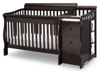 How much weight will a baby baby crib hold?