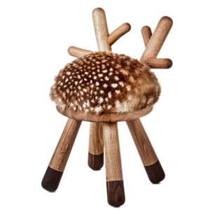 Comfortable Round Padded seat cute Animal Shape chair