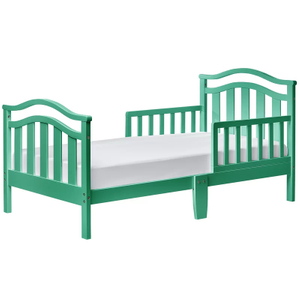 Solid Wood Toddler Bed in Color