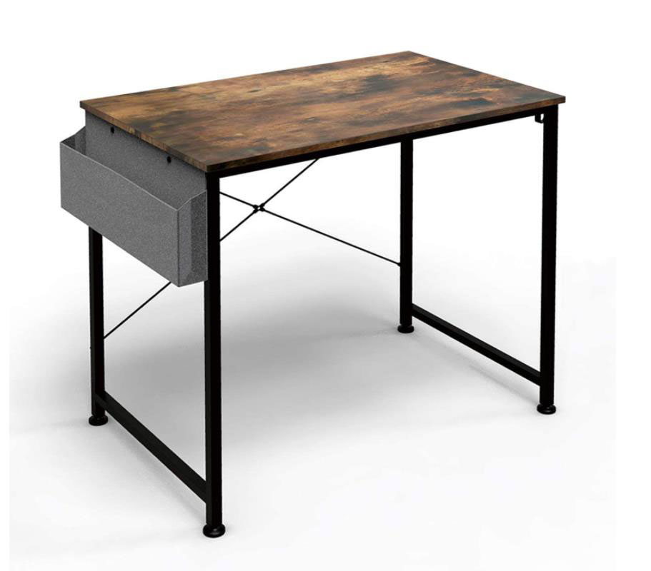 Home Wood Study Desk with Storage Bag