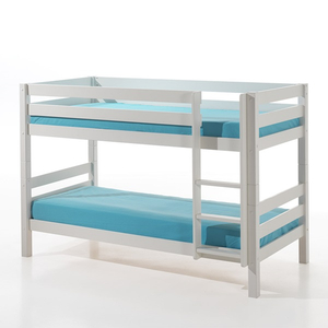 Wihte Solid Wood Bunk Bed
